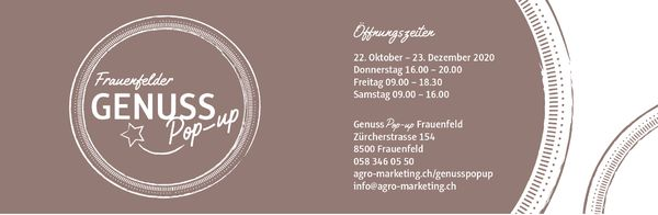Pop Up Store Frauenfeld